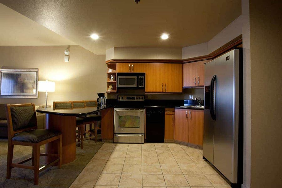 Platinum Hotel and Spa Las Vegas kitchen