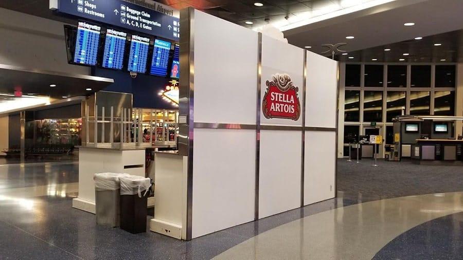 Stella Artois Bar at Airport