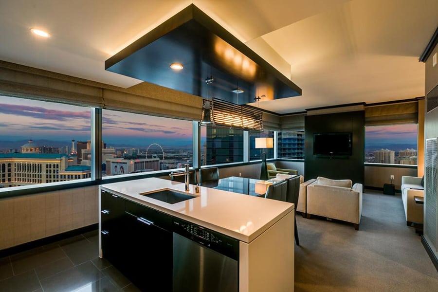 Vdara Las Vegas kitchen