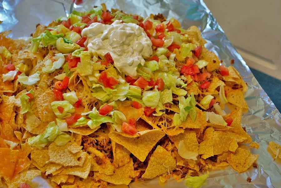 nachos at Jose Cuervo Tequileria