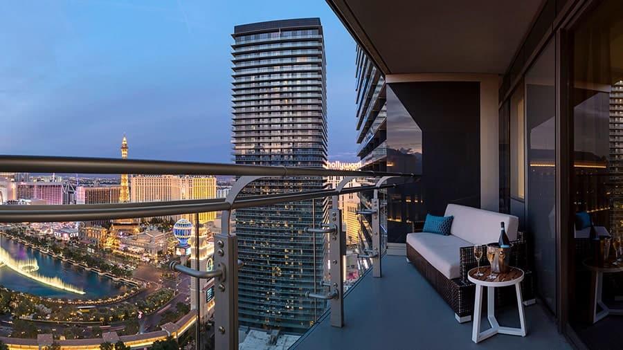 Cosmopolitan Luxury Resort Balcony
