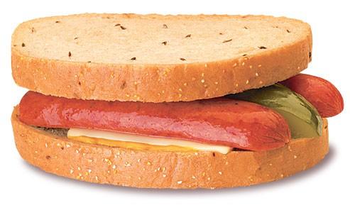sandwich polish sandwich Wienerschnitzel