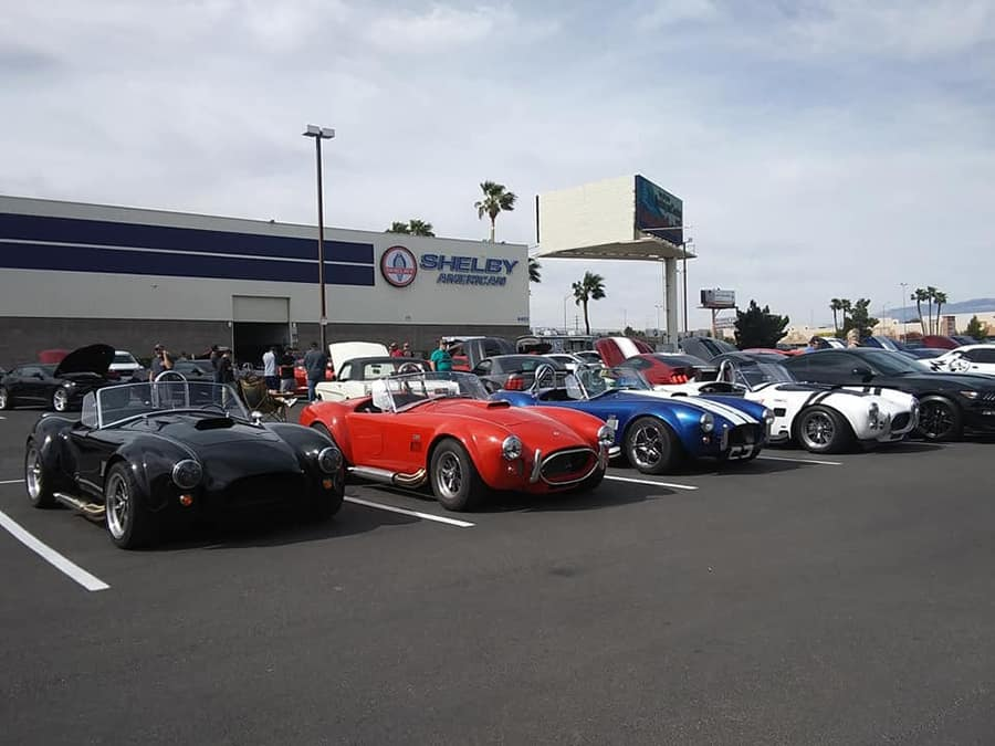 Cars & Coffee at the Shelby Museum