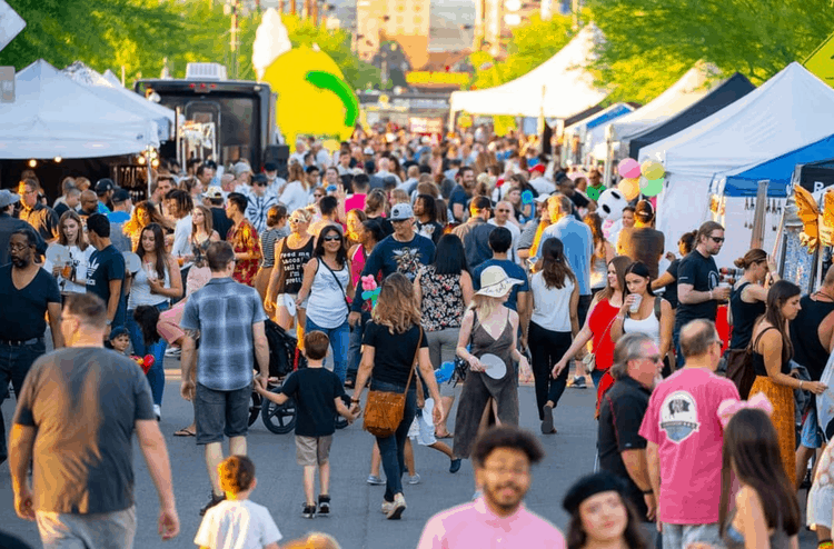 First Fridays at the Las Vegas Arts District