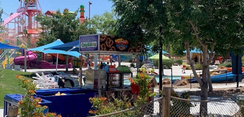 Food Carts at Wet'n'Wild Las Vegas