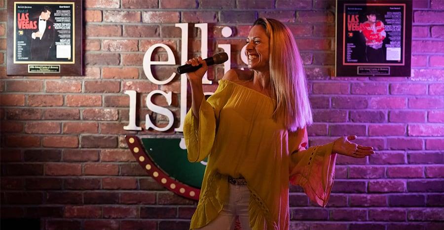 Free Karaoke at Ellis Island