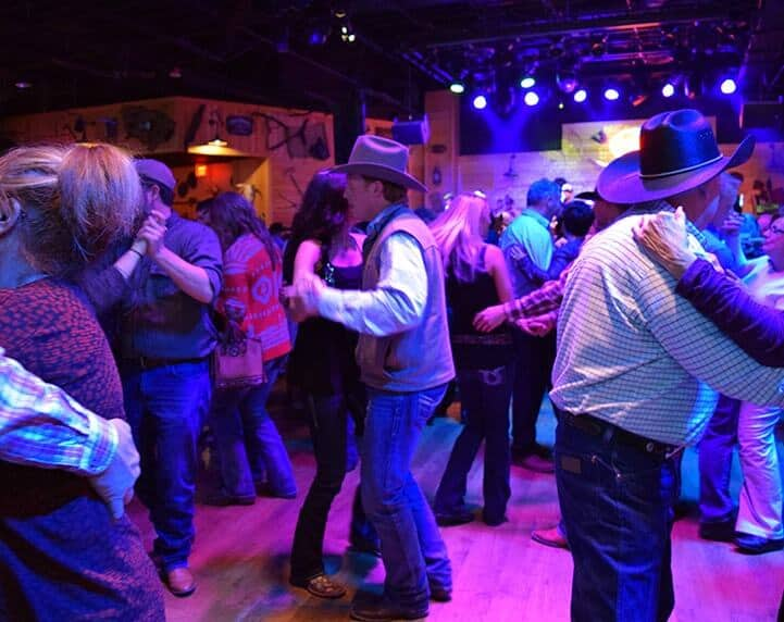 Line Dancing Lessons at Gilley's