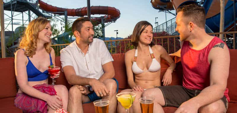 Oasis Patio & Beer Garden at Wet'n'Wild Las Vegas