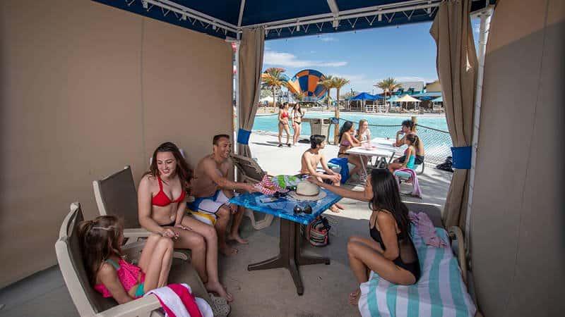 Premium Cabana Wave Pool