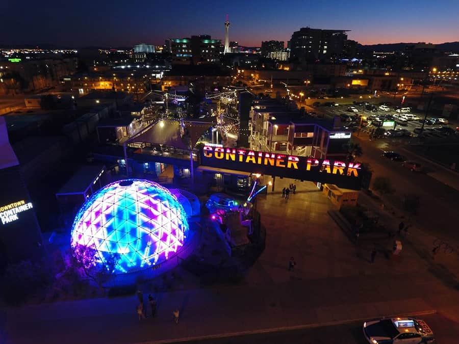 The Dome at Container Park