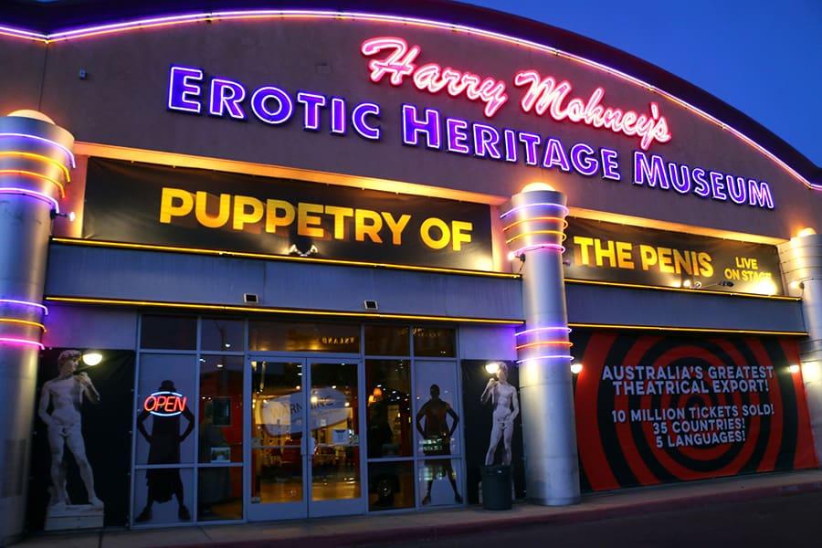 Visit the Erotic Heritage Museum