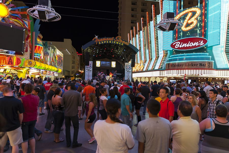 Concert at the Fremont Street Experience