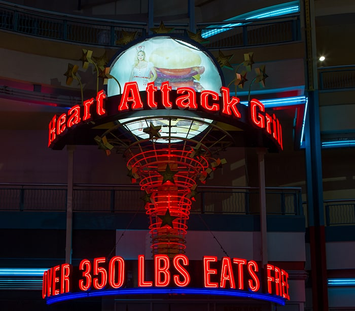 Free Meal at Heart Attack Grill