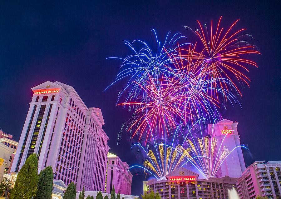 4th of July celebration in Las Vegas