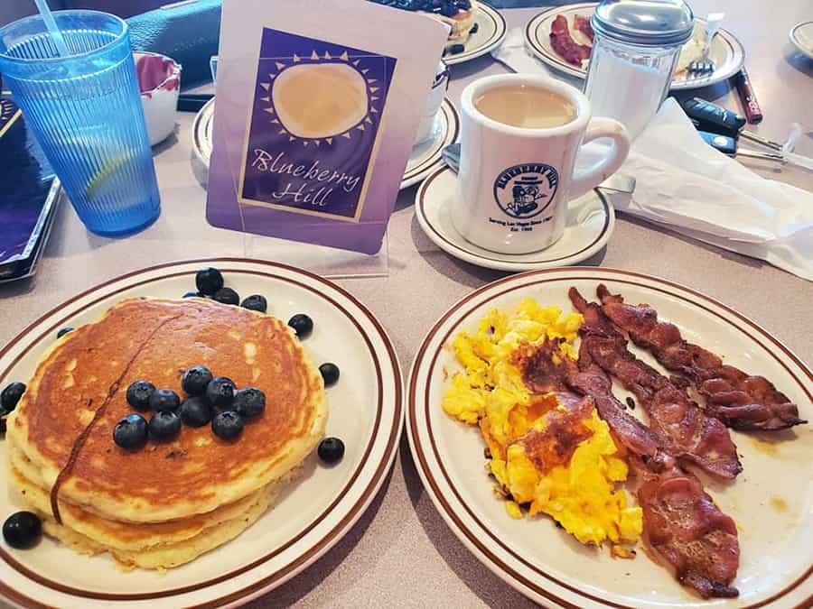 Breakfast at Blueberry Hill Las Vegas
