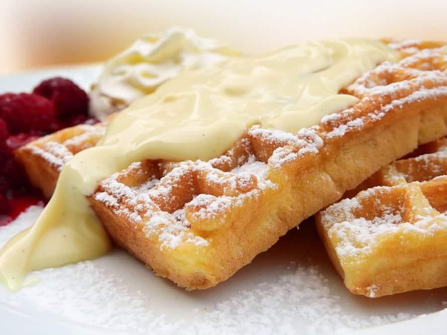 Butter Cream Waffles