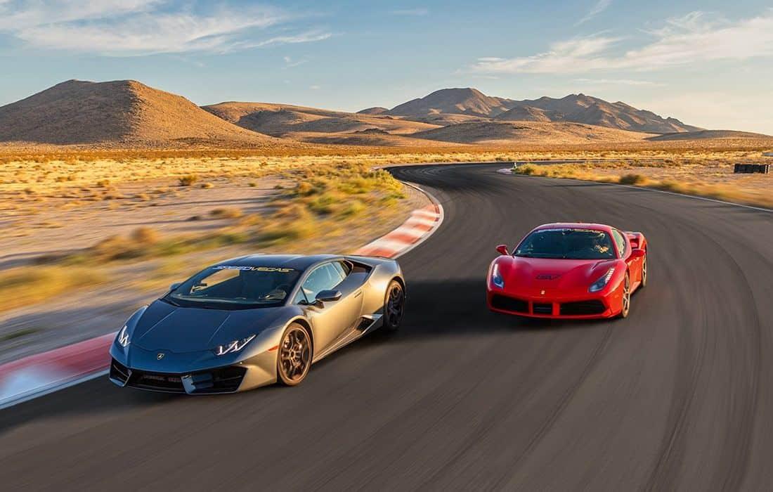 Exotic Car Racing in Las Vegas