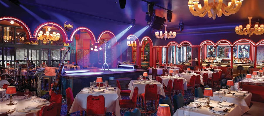 Mayfair Supper Club and a Late Night Show