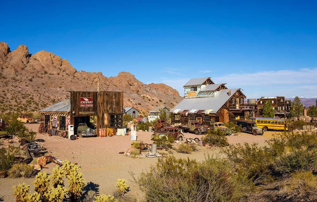 8 Ghost Towns Near Las Vegas