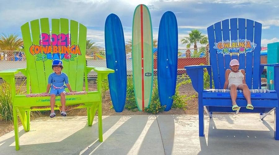 Cool Off at Cowabunga Bay In Las Vegas