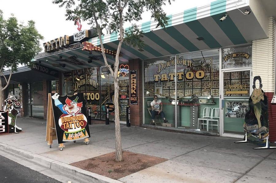 Downtown Tattoo Shop in Las Vegas