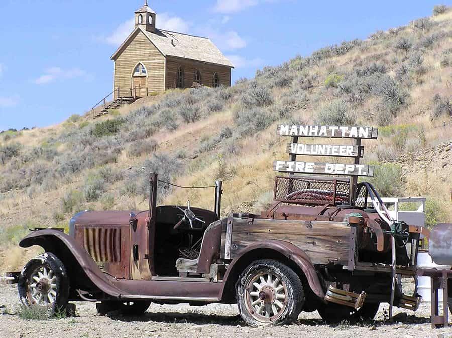 Manhattan Nevada Ghost Towns