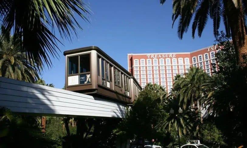 Mirage Treasure Island Tram