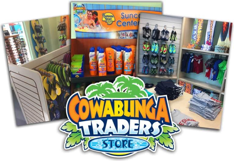 Shopping at Cowabunga Bay Water Park