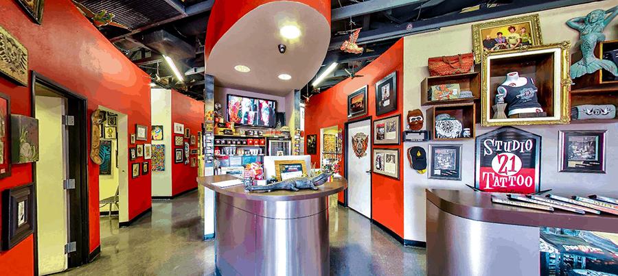 Studio 21 Tattoo Gallery