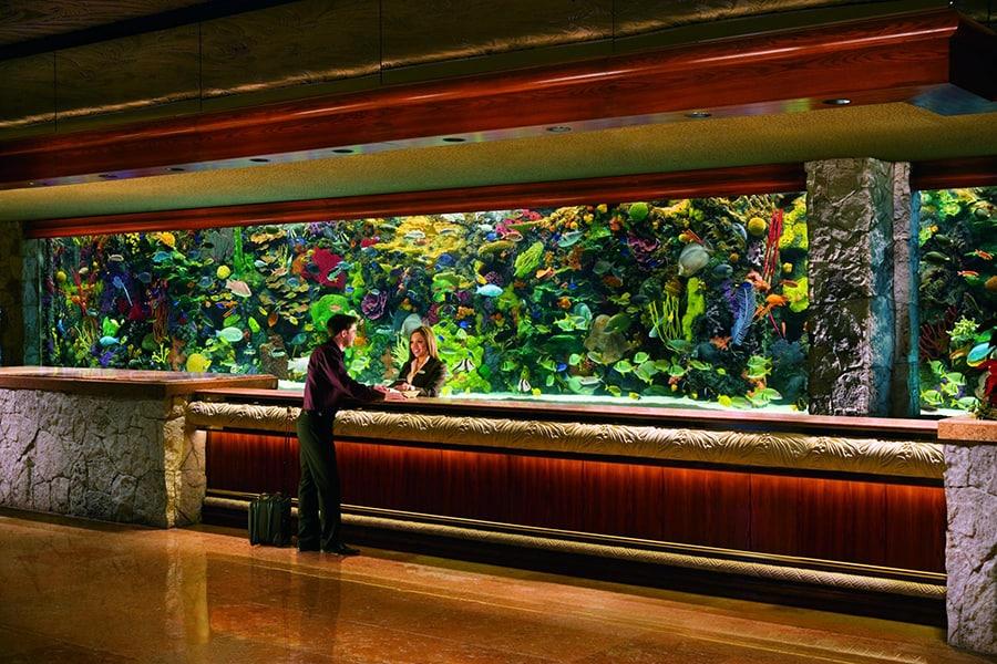 The Aquarium at the Mirage