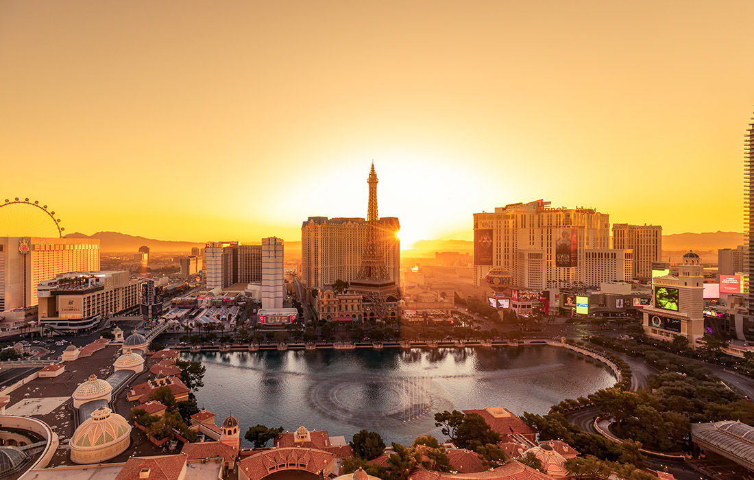 Non Gaming Hotels in Las Vegas